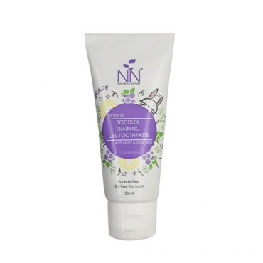 Nature to Nurture Toddler Training Gel Toothpaste (Violet)