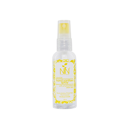 Nature to Nurture Hand Sanitizer Spray (Lemon)