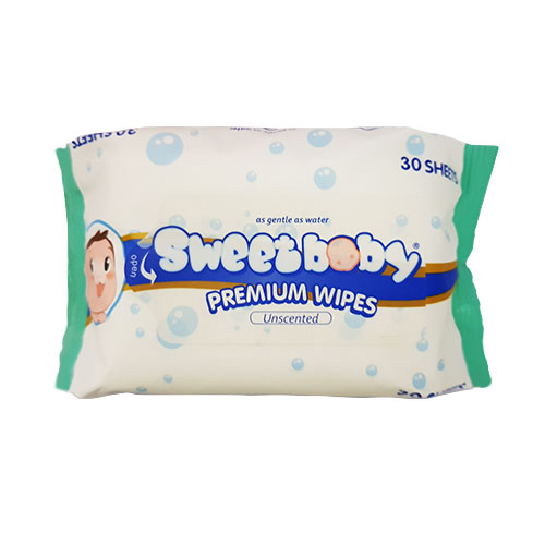 Sweetbaby Premium Wipes (Unscented)