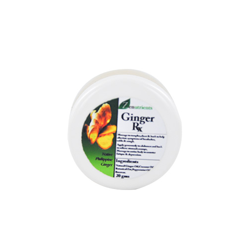 Zenutrients Ginger RX Balm