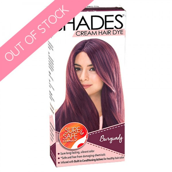Shades Cream Hair Dye (Burgundy)