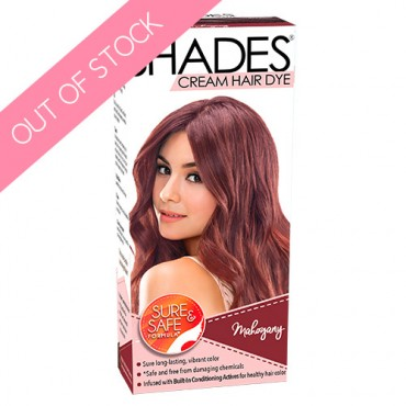 Shades Cream Hair Dye (Mahogany)