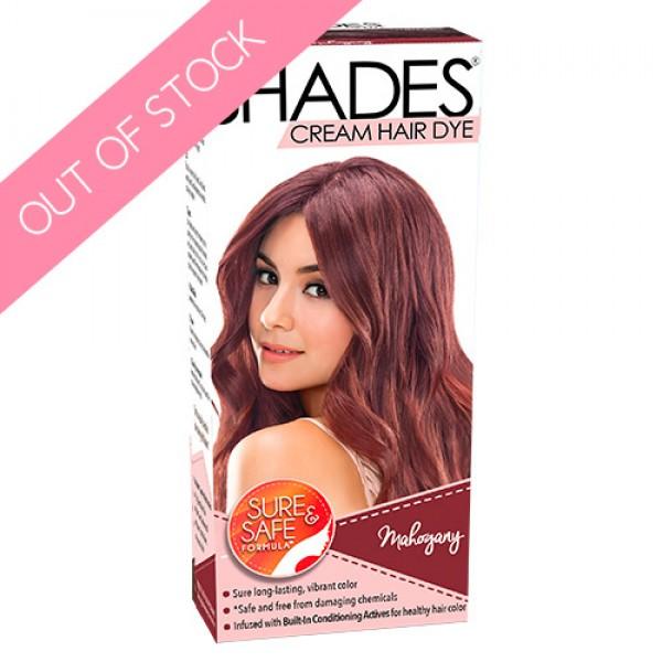 Shades Cream Hair Dye (Mahogany)
