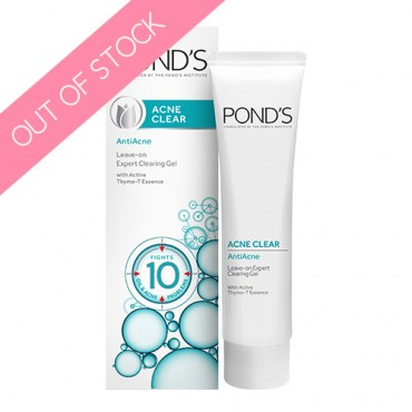 Pond's Acne Clear AntiAcne Leave-on Expert Clearing Gel