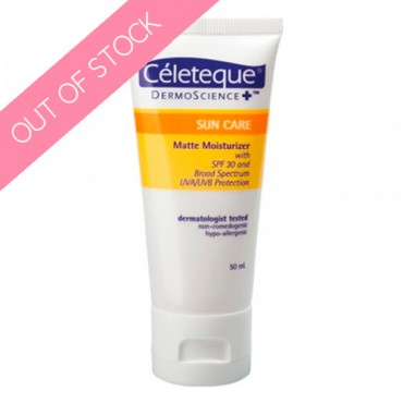Céleteque DermoScience™ Sun Care Matte Moisturizer SPF 30