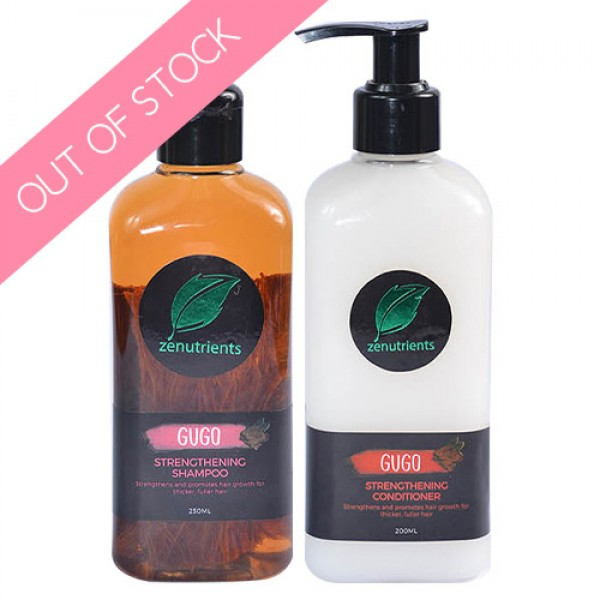 Zenutrients Gugo Strengthening Shampoo & Conditioner