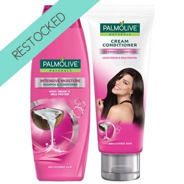 Palmolive Naturals Intensive Moisture Shampoo and Cream Conditioner