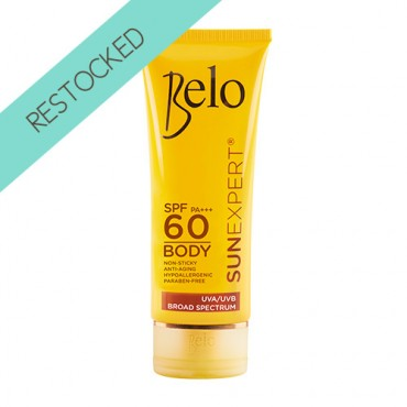 Belo SunExpert Body Shield SPF60 and PA+++