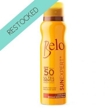 Belo SunExpert Ultragentle Sheer Spray SPF50 and PA+++