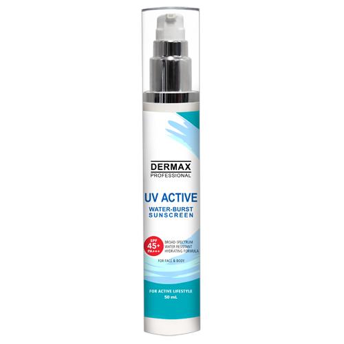 DERMAX Professional UV Active Water-Burst Sunscreen SPF 45+ PA++