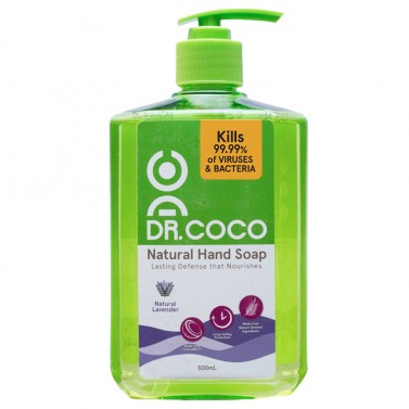 Dr. Coco Natural Hand Soap (Lavender)