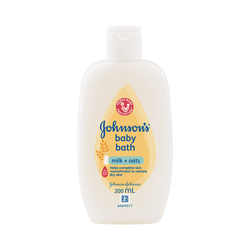 JOHNSON'S® Milk+Oats™ baby bath