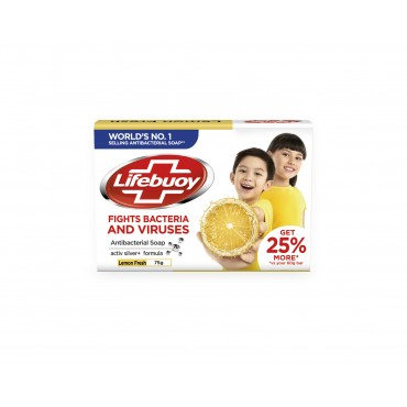 Lifebuoy Lemon Fresh Antibacterial Soap