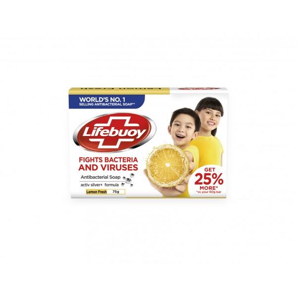 Lifebuoy Lemon Fresh Antibacterial Soap