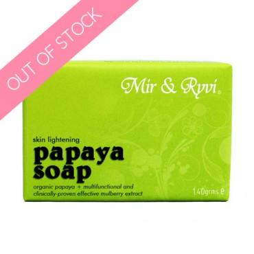 Mir & Ryvi Skin Lightening Papaya Soap