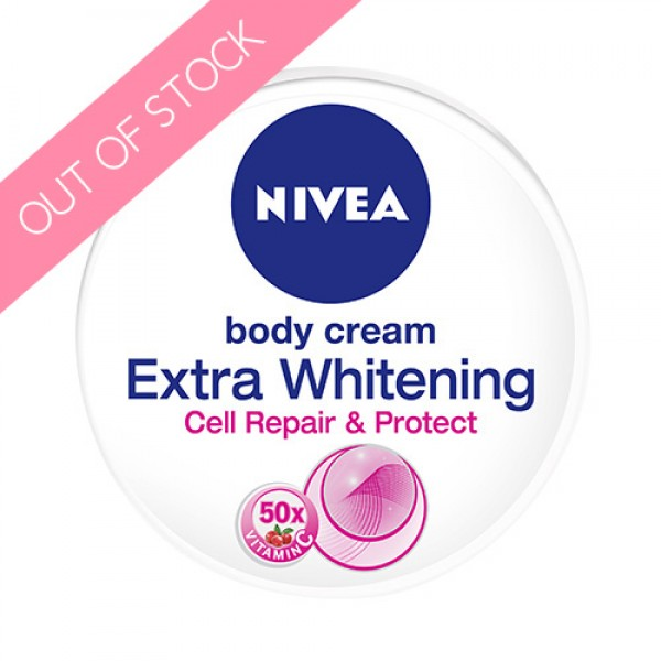 Nivea Body Cream Extra Whitening Cell Repair and Protect