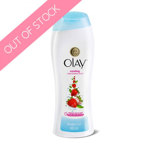 Olay Cooling White Strawberry & Mint Body Wash