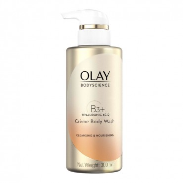 Olay BodyScience Body Wash Cleansing & Nourishing (B3+ Hyaluronic Acid)