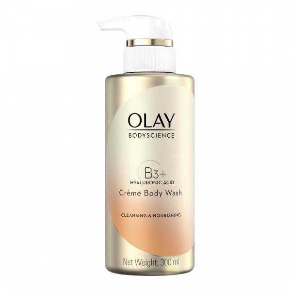 Olay BodyScience Body Wash Cleansing & Nourishing (B3+ Hyaluronic Acid)