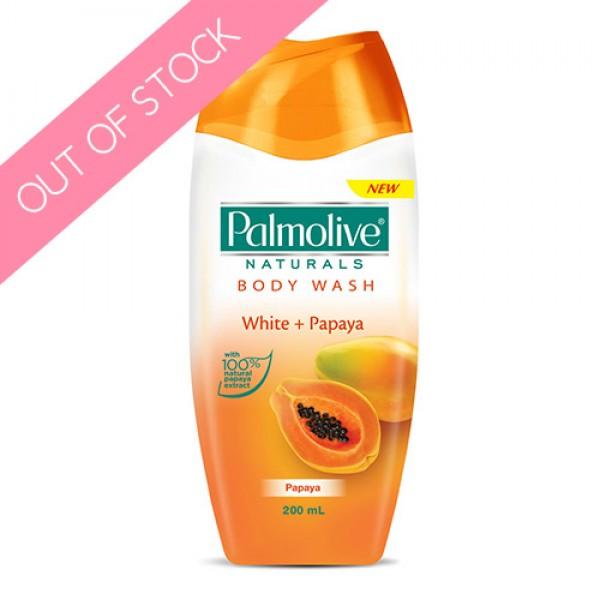 Palmolive Naturals White + Papaya Body Wash