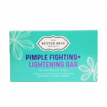 The Better Skin Project Pimple Fighting + Lightening Bar