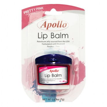 Apollo Lip Balm (Pretty Pink)