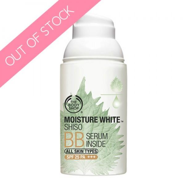 The Body Shop Moisture White™ Shisho BB SERUM INSIDE
