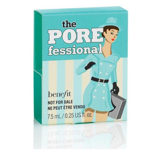 Benefit the POREfessional