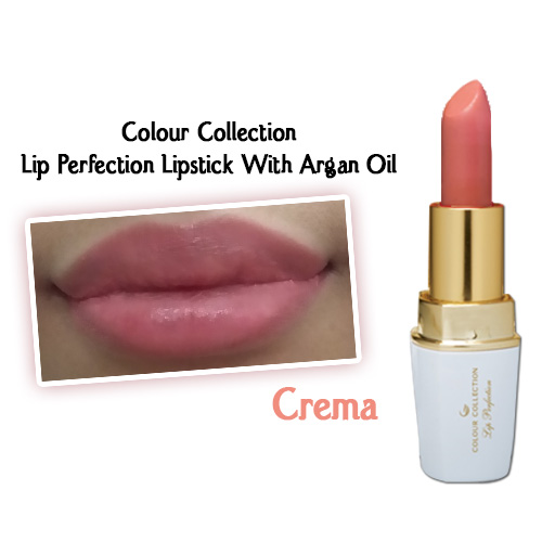 Colour Collection Lip Perfection Lipstick (Crema)