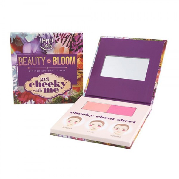 Happy Skin Beauty in Bloom Get Cheeky With Me 2-in-1 Blush