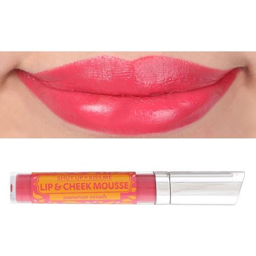 Happy Skin Shut Up & Kiss Me Lip & Cheek Mousse (Summer Crush)