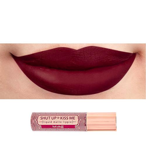 Happy Skin Shut Up & Kiss Me Liquid Matte Lippie (Hot Stuff)