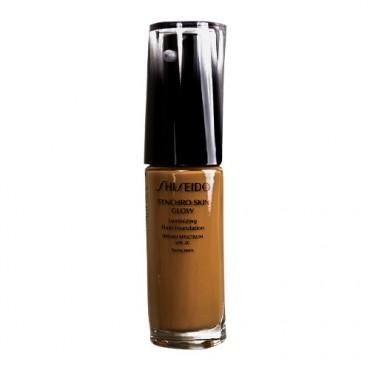 Shiseido Synchro Skin Glow Luminizing Fluid Foundation with SPF 20 (Golden 6)