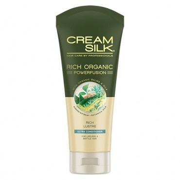 Cream Silk Rich Organic Powerfusion Ultra Conditioner (Rich Lustre)