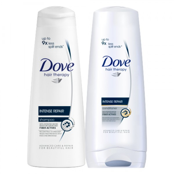 Dove Intense Repair Shampoo and Hair Conditioner