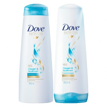 Dove Oxygen & Nourishment Shampoo and Hair Conditioner
