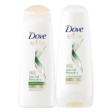 Dove Hair Fall Rescue+ Shampoo and Conditioner