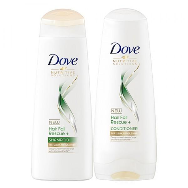 Dove Hair Fall Rescue+ Shampoo and Conditioner