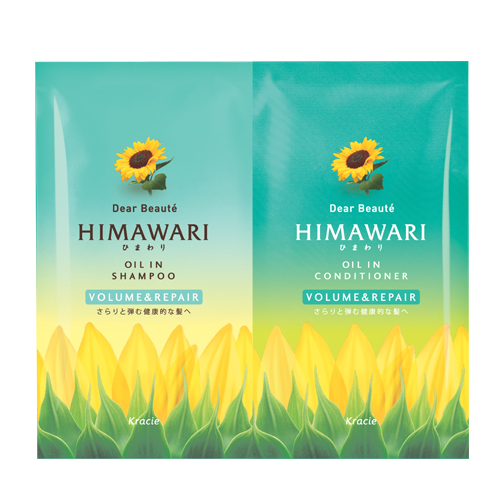 Dear Beauté Himawari by Kracie Oil in Shampoo & Conditioner (Volume & Repair)