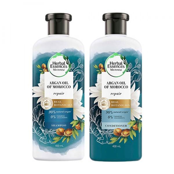 Herbal Essences Argan Oil of Morocco Shampoo & Conditioner