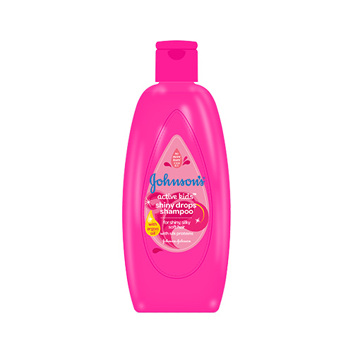 JOHNSON'S® Active Kids™ Shiny Drops™ shampoo