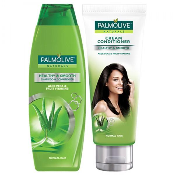 Palmolive Naturals Healthy & Smooth Shampoo and Cream Conditioner
