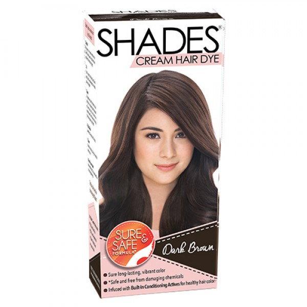 Shades Cream Hair Dye (Dark Brown)