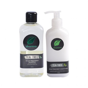 Zenutrients Tea Tree Scalp Treatment Shampoo and Conditioner