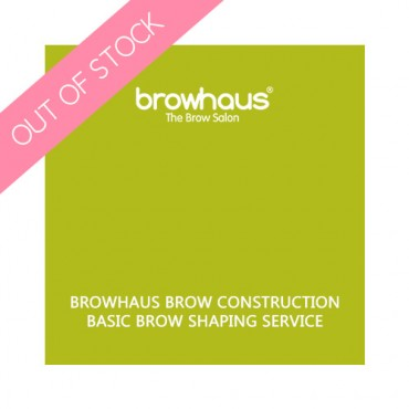 Browhaus Brow Construction- Basic Brow Shaping Service