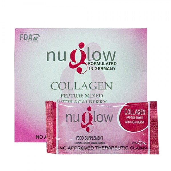 Nuglow Collagen Peptide Mixed with Acai Berry