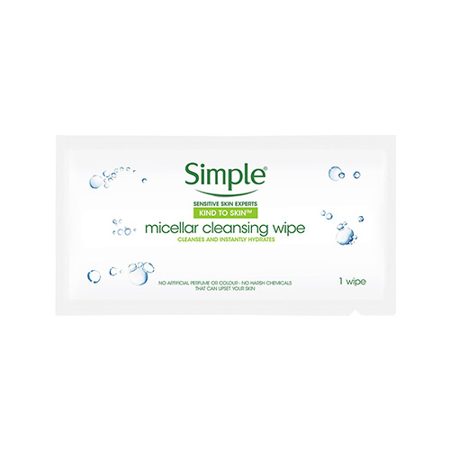 Simple Kind to Skin Micellar Cleansing Wipes