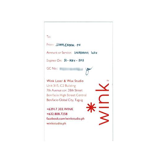 Wink Laser & Wax Studio Underarm Wax