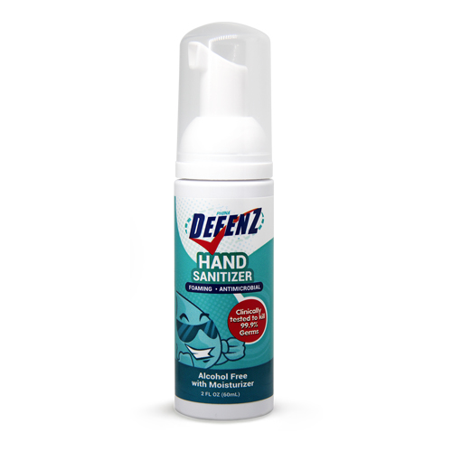 Defenz Alcohol-Free Foaming Hand Sanitizer