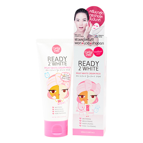 Cathy Doll Ready 2 White Milky Cream Pack